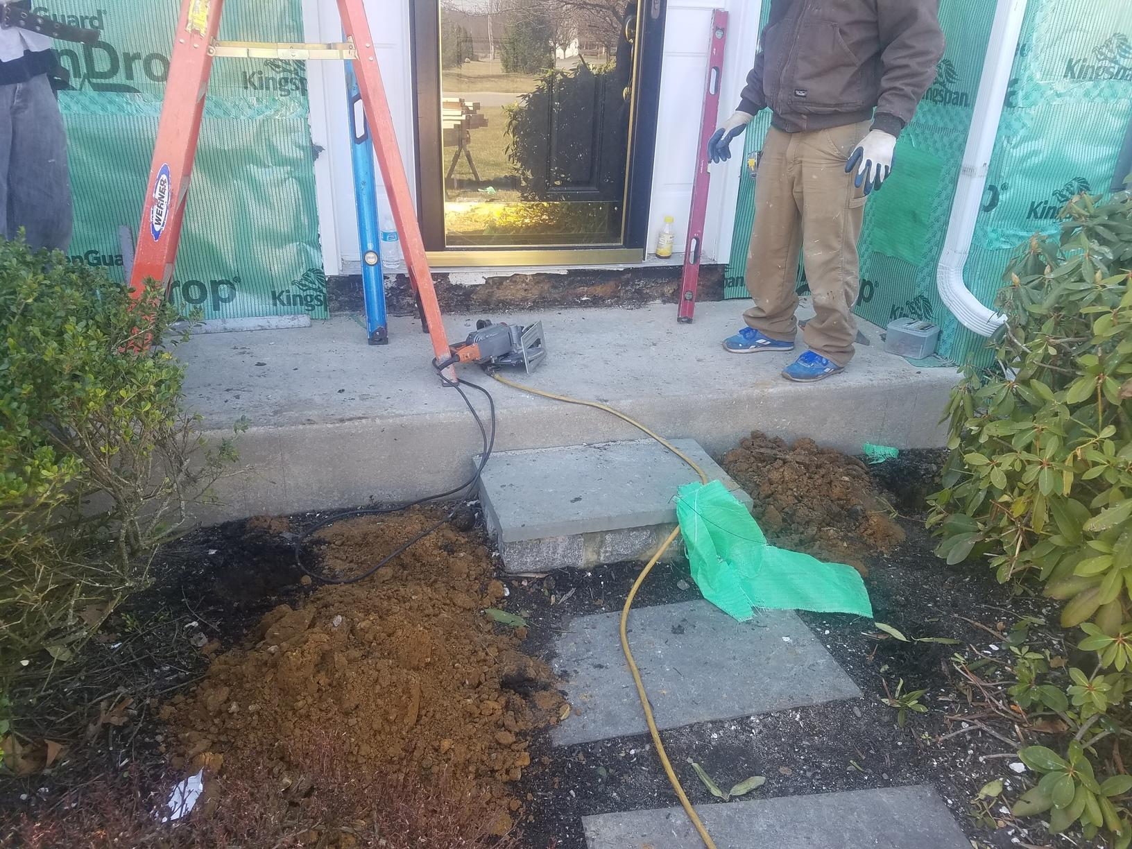 Remodeling Front Entryway in Honey Brook, PA