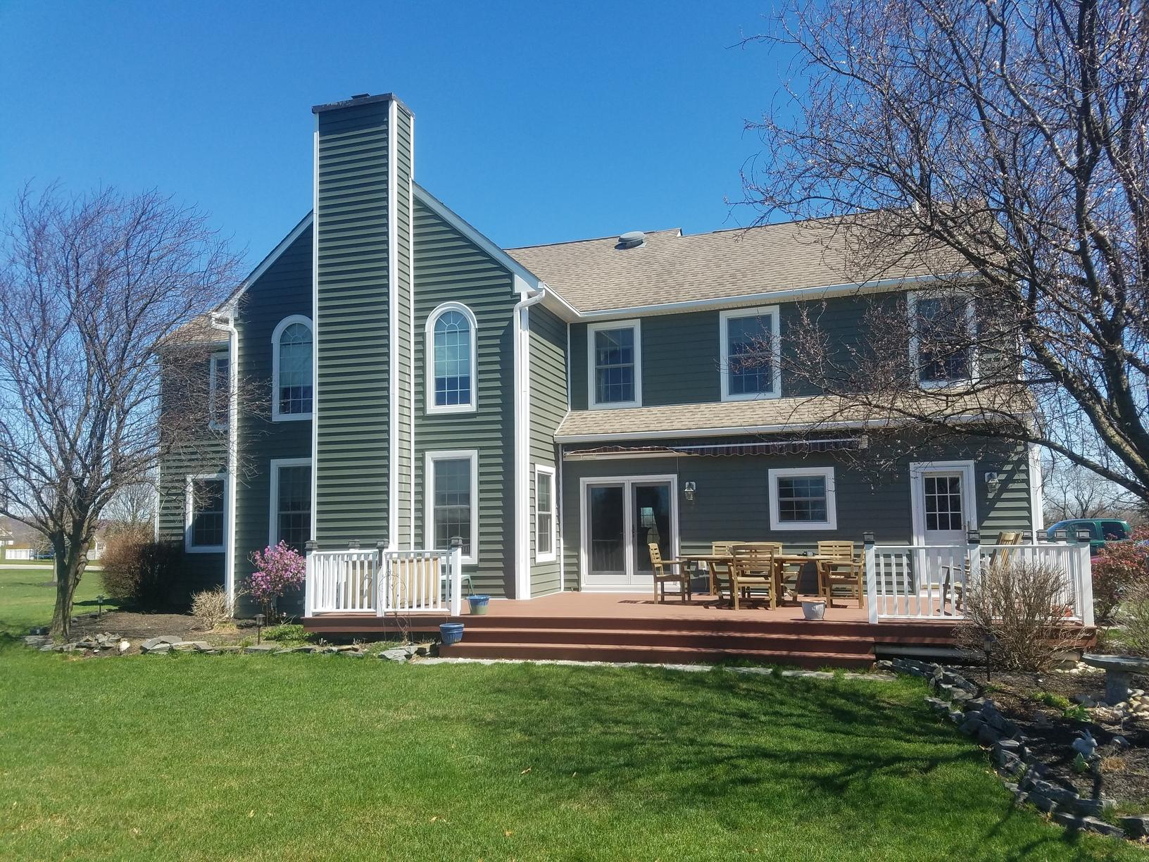 Deep Moss Prodigy Insulated Vinyl Siding Installed in PA