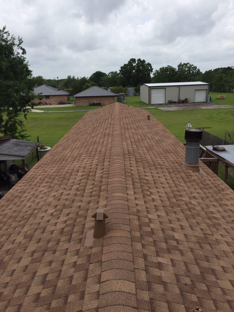 The completed Roof
