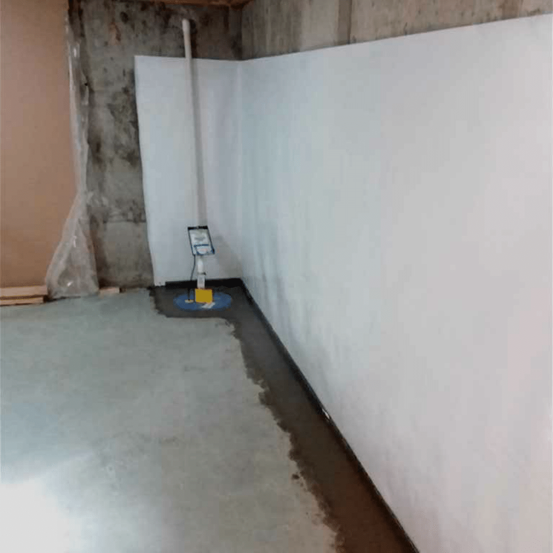 WaterGuard® and SuperSump® Sump Pump System Fully Installed