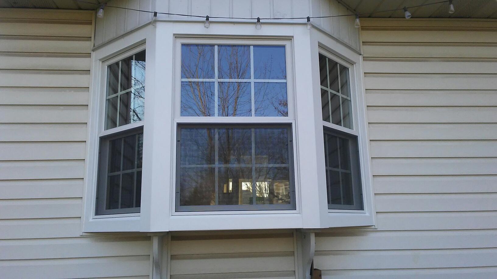 Marvin Infinity Fiberglass Bay Window Install in PA