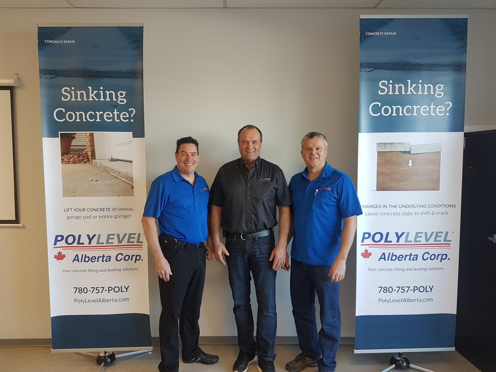 PolyLEVEL Alberta Corp. Owners Photo