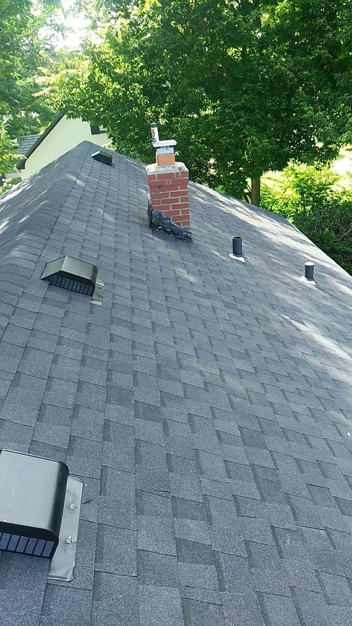 Shingles Completed