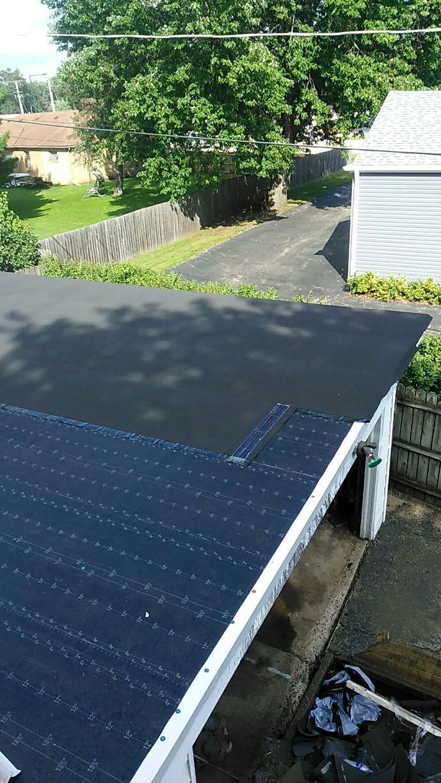 Flat Roof Progress