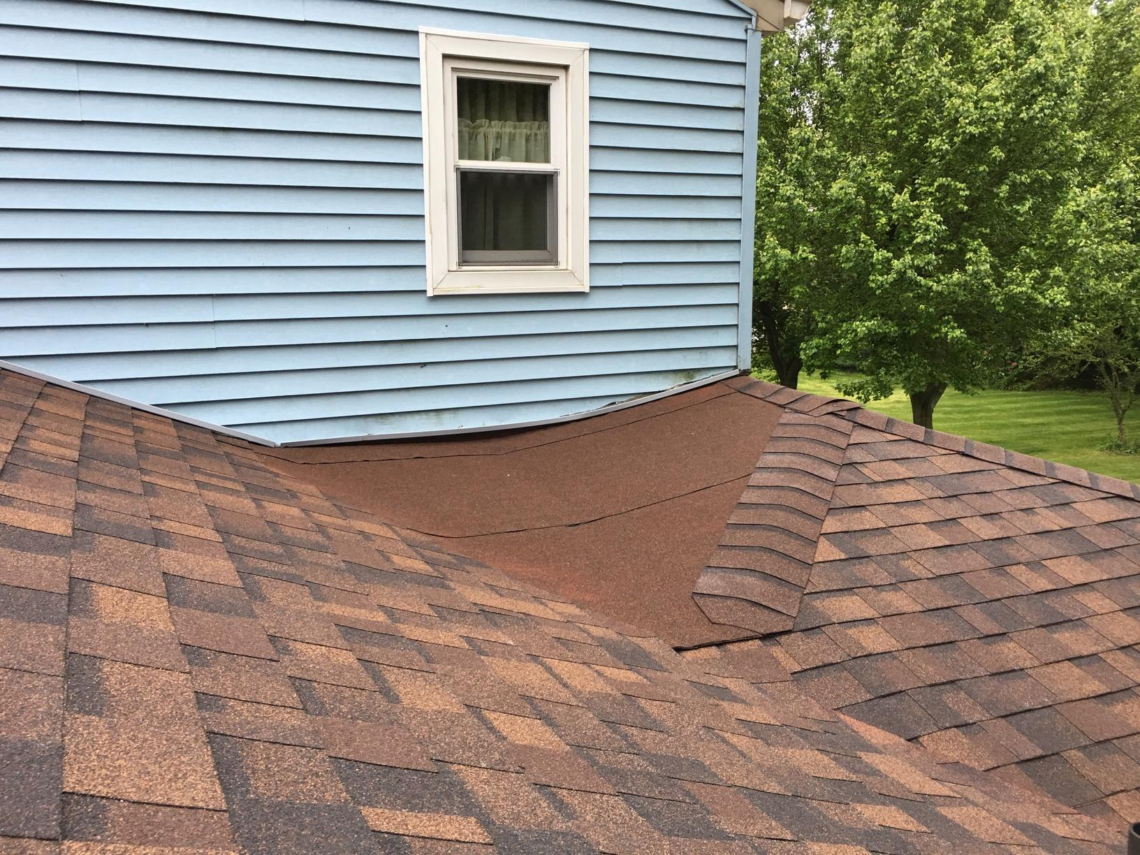 Installing Shingles on Flatter Portion of Roof in NJ