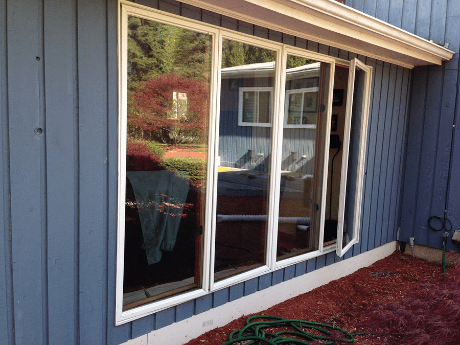 Before Energy Efficient Window Replacement