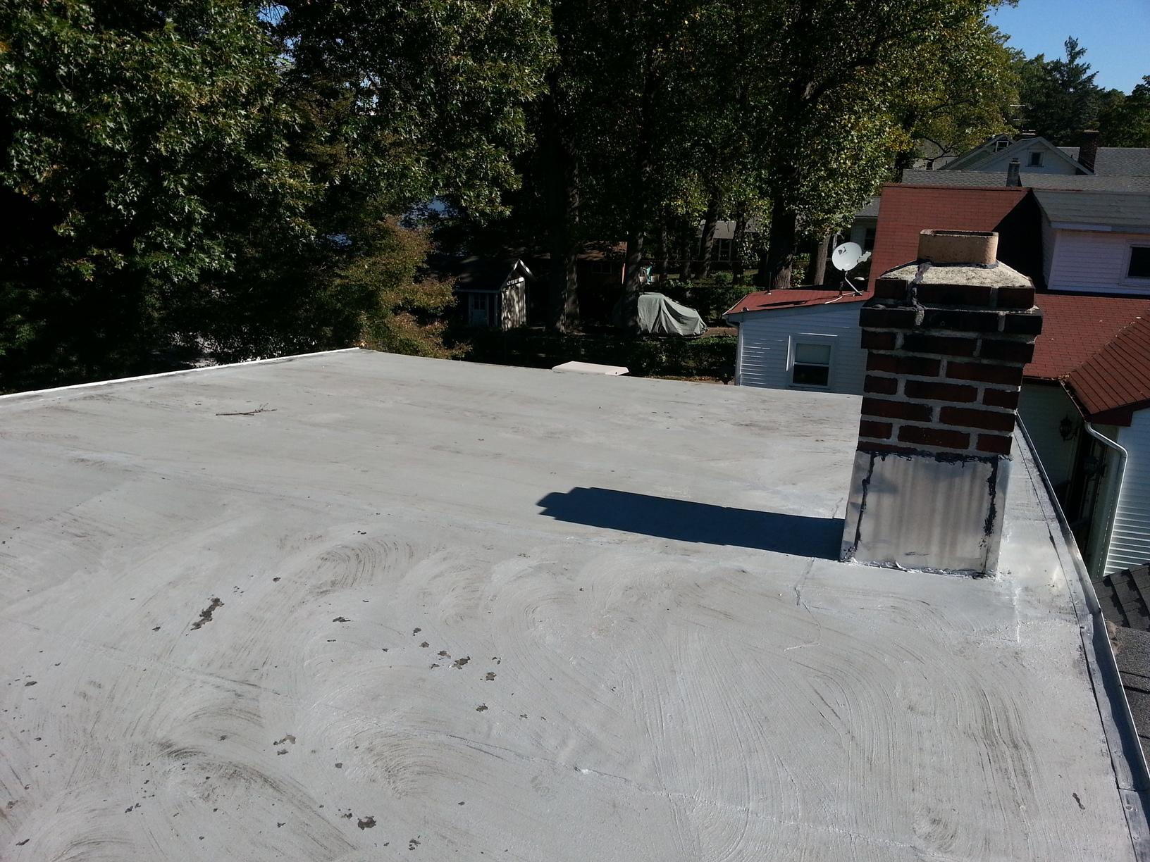 Replacing Mixed Roof with Metal