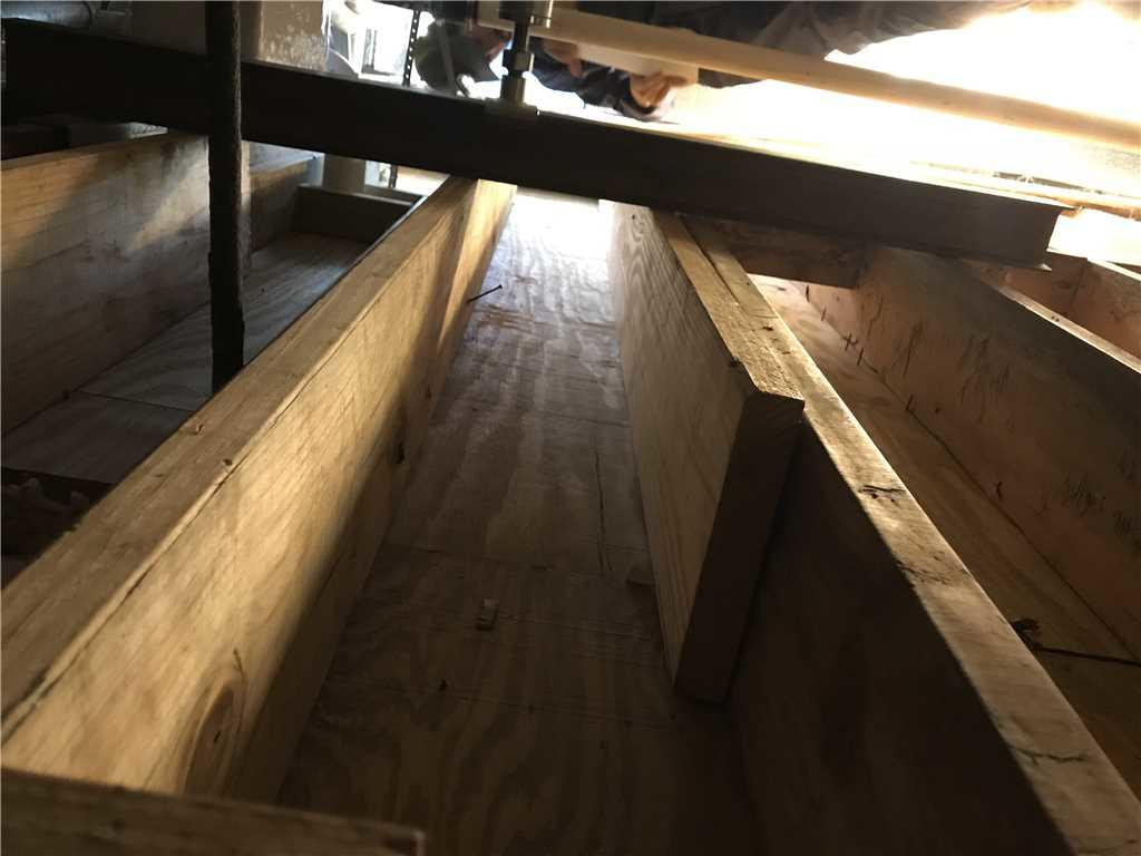 Replaced Beams