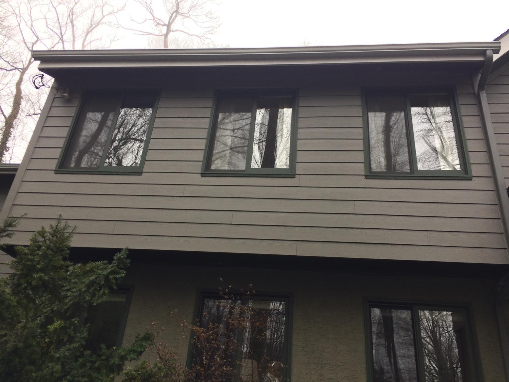 Weathered Grey Fiber Cement Siding