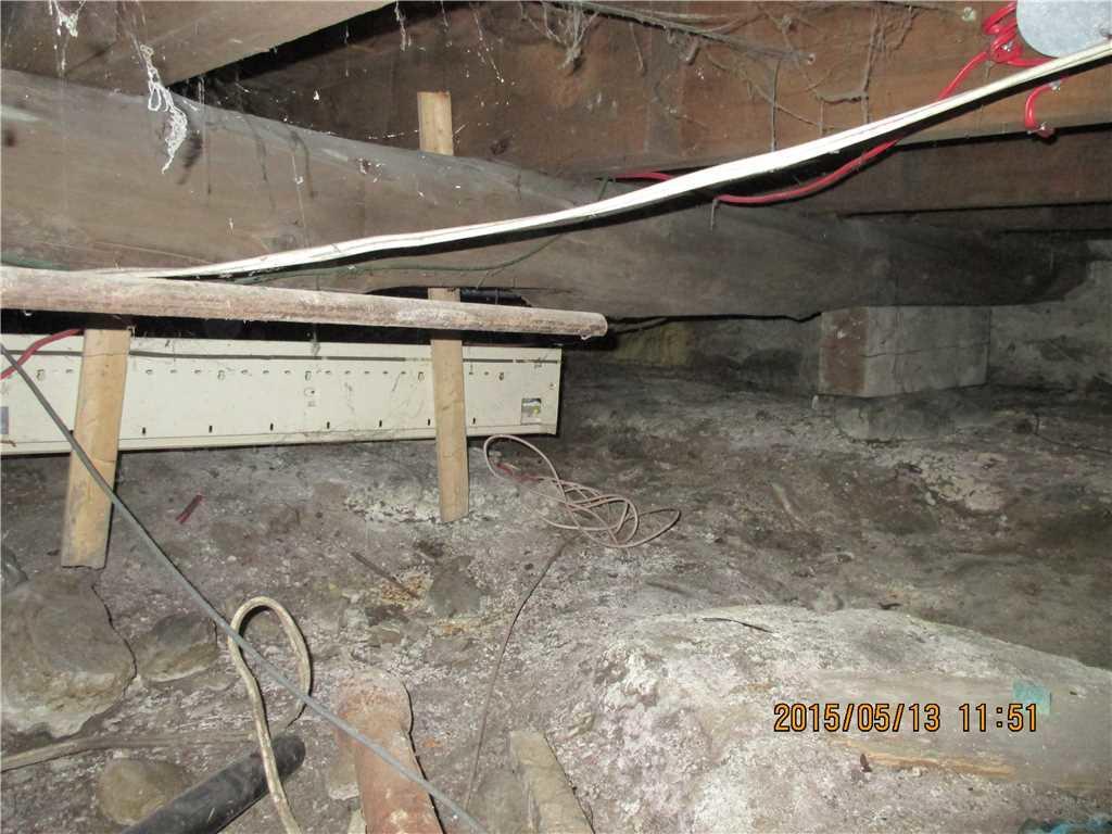 Centre d 39 tude encapsulation de vide sanitaire - Maison sans vide sanitaire humidite ...