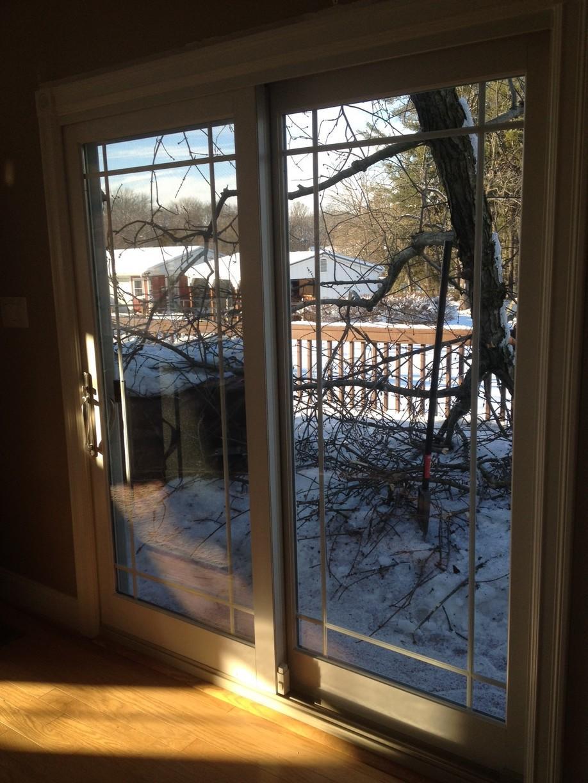 Interior of Marvin French Sliding Door Installation