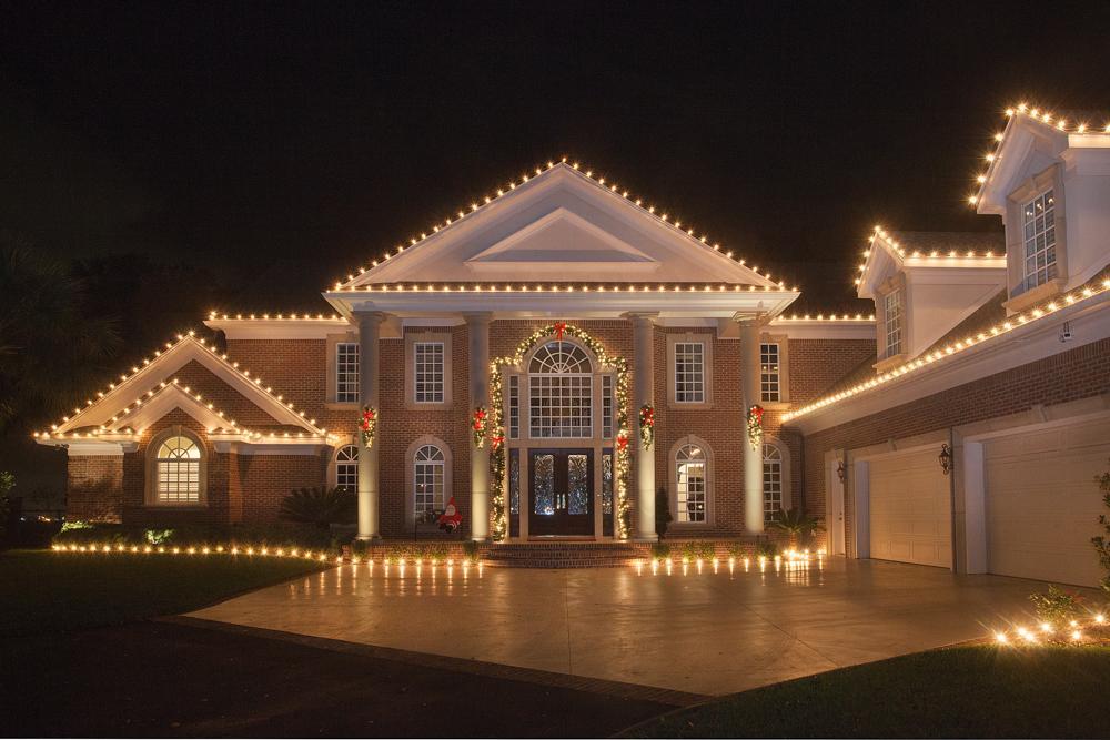 Elegant Holiday Display in Millstone, NJ