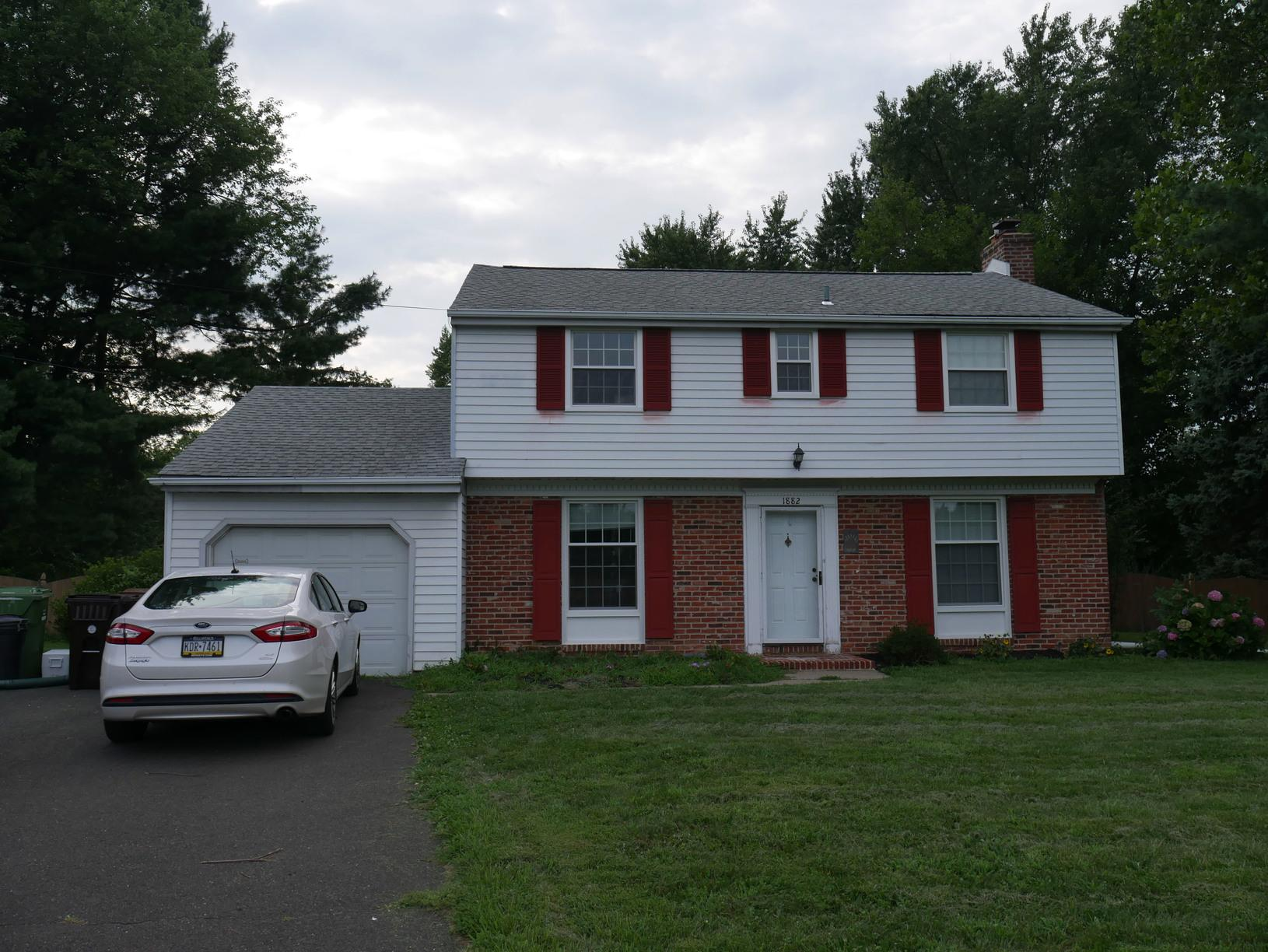 Final Photo of Home After Marvin Infinity Window Installation in Maple Glen, PA