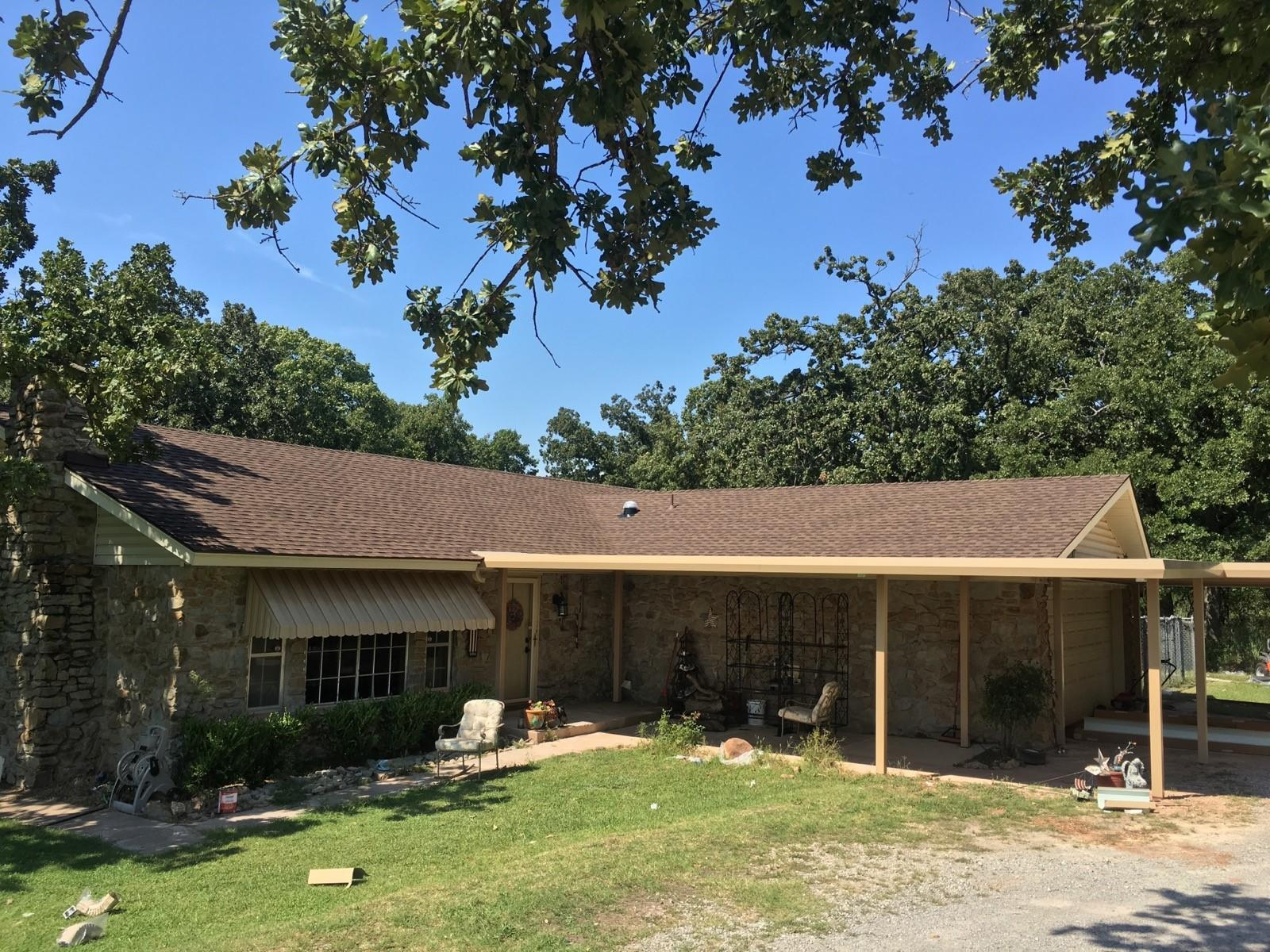 Rural Norman, OK - New roof Installation
