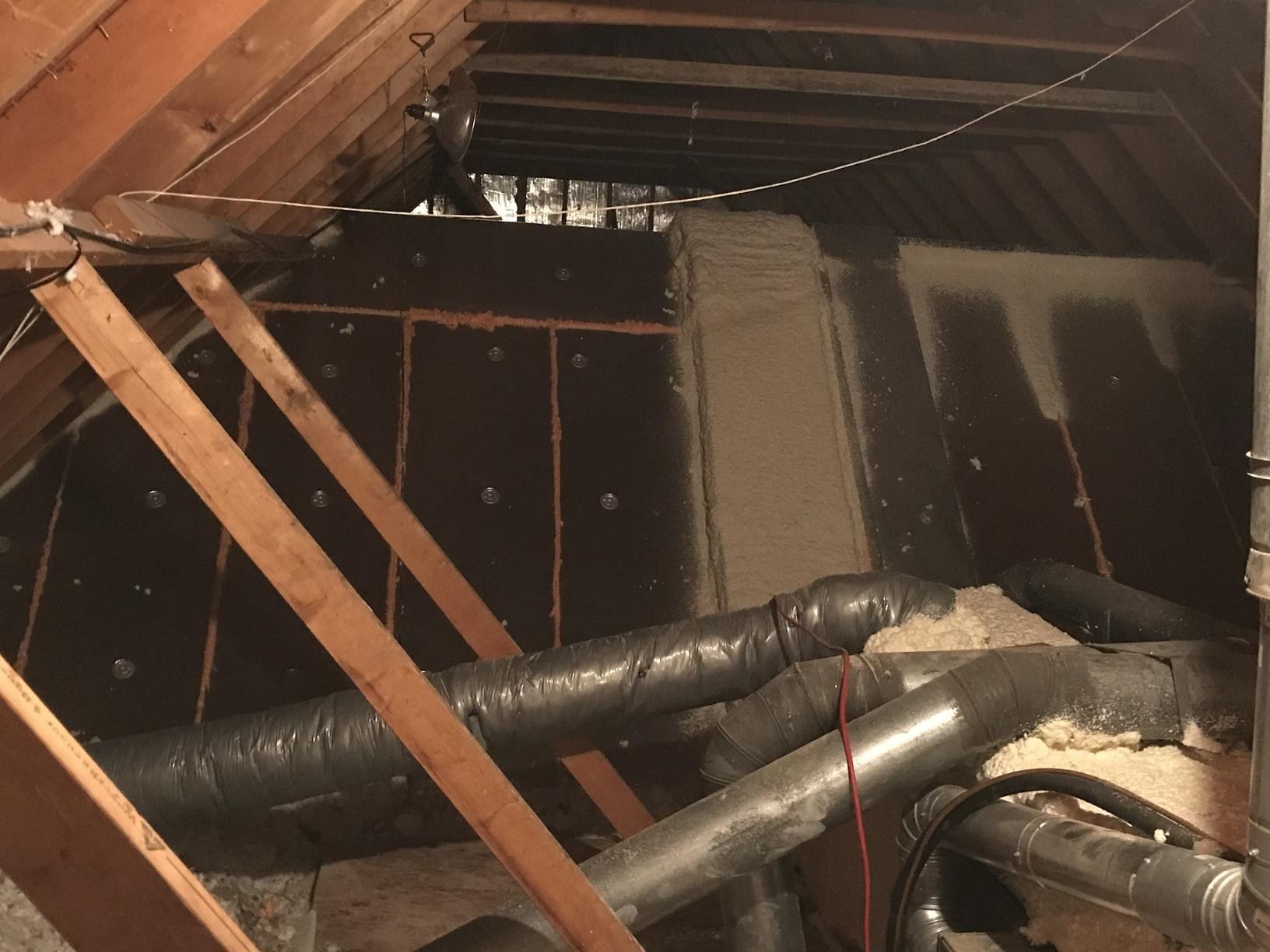 Air Sealing vaulted ceiling in Boys Town, NE