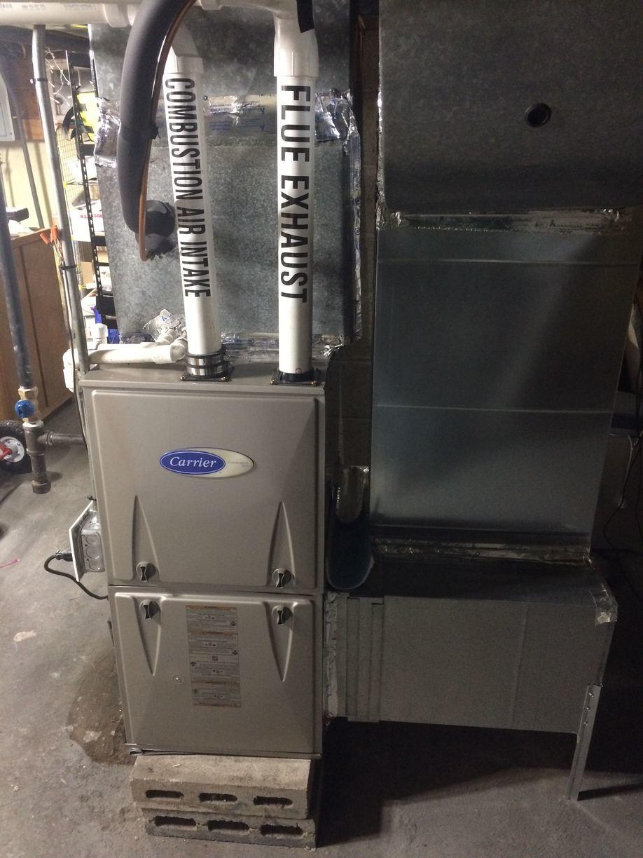 Oil to Gas Furnace Conversion