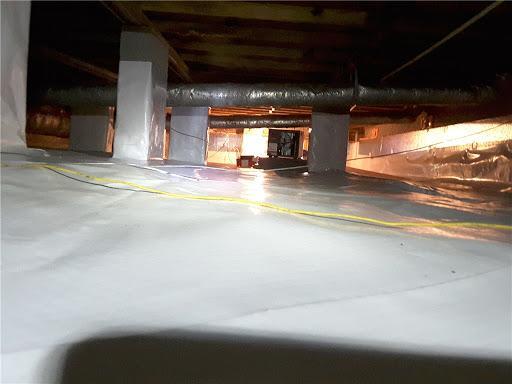 Crawl space encapsulation in Walterboro, SC