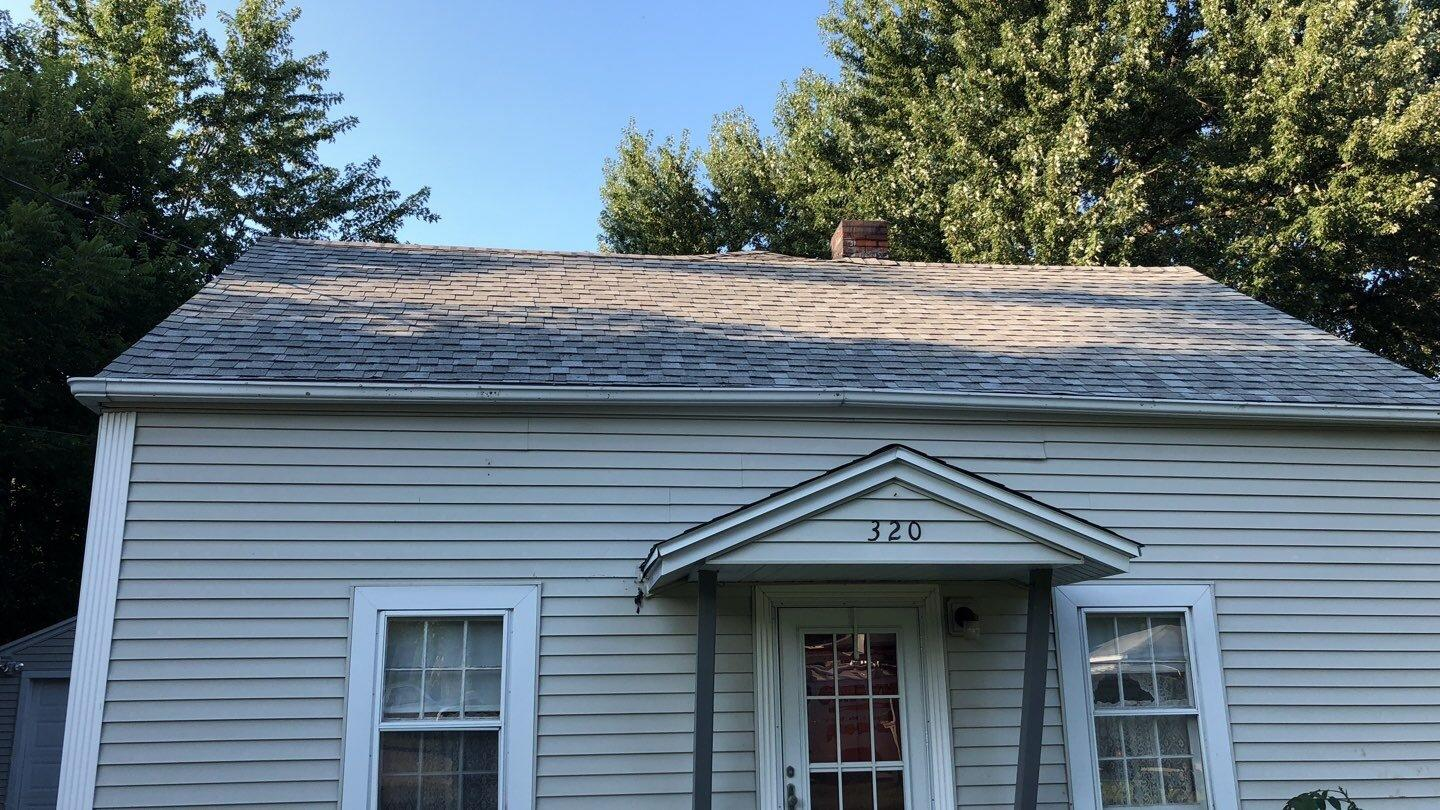 Roof Replacement After Hail Damage In Machesney Park Il