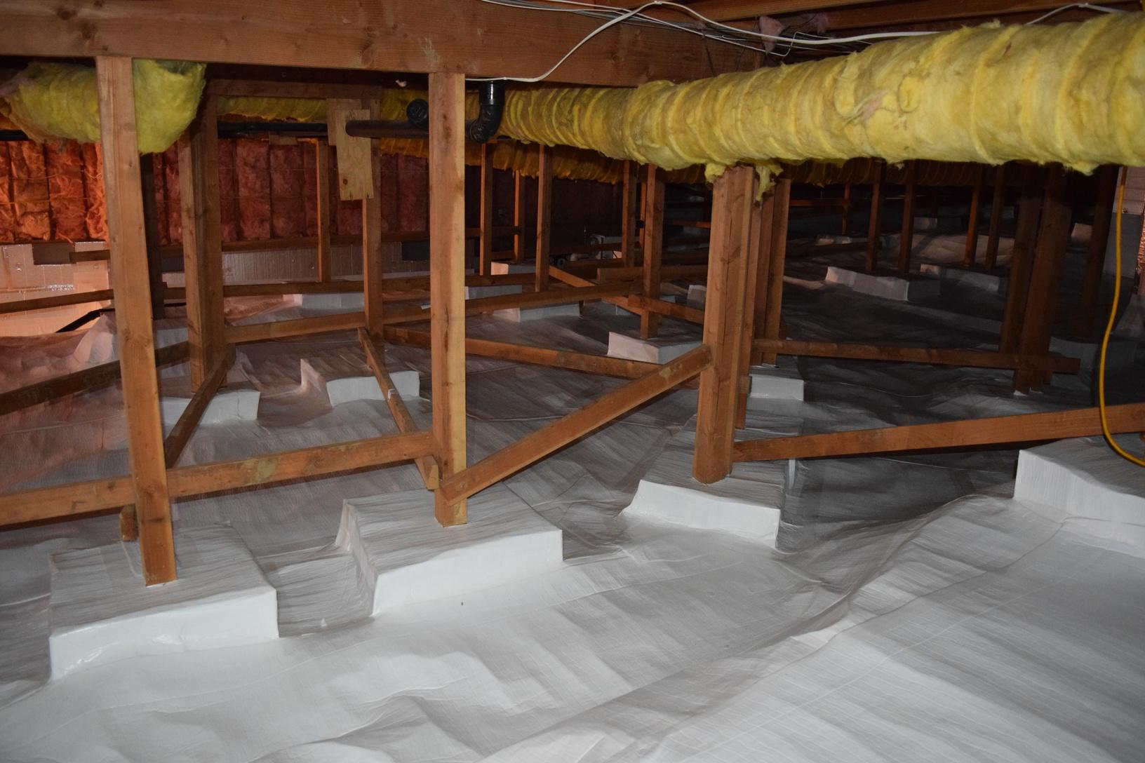 Encapsulated crawl space in Portland, OR