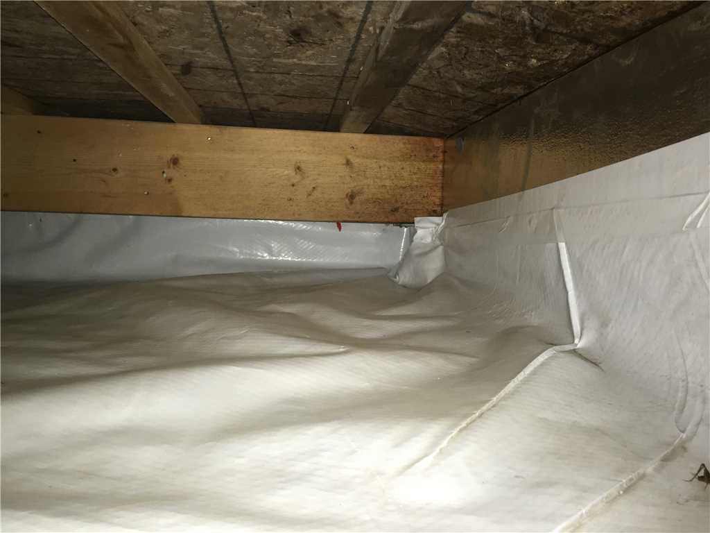 Installation of the SilverGlo™ Crawl Space Wall Insulation