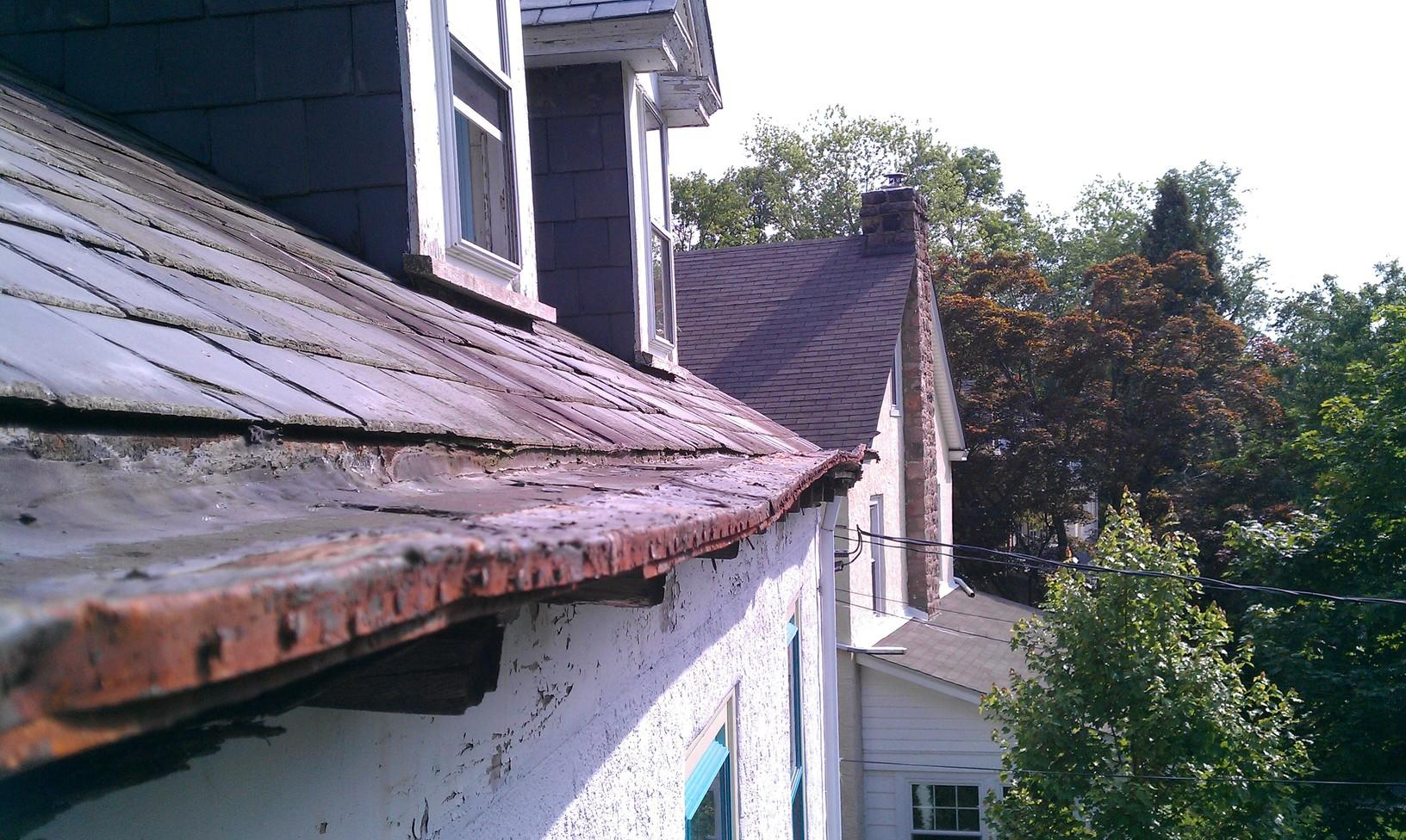Replacing Gutters and Roof in Ambler, PA