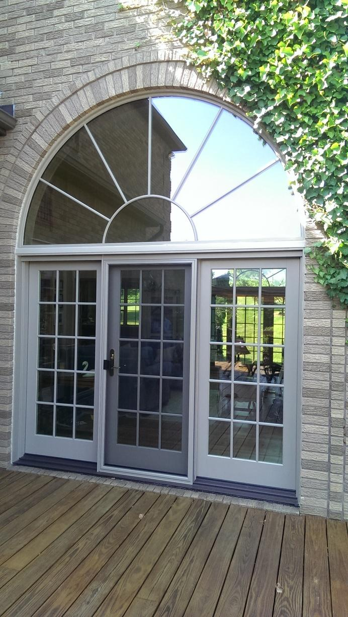 Marvin French In-swinging Patio Door Install in Annandale, NJ