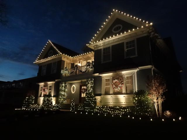Holiday Decor in Spring Lake, New Jersey