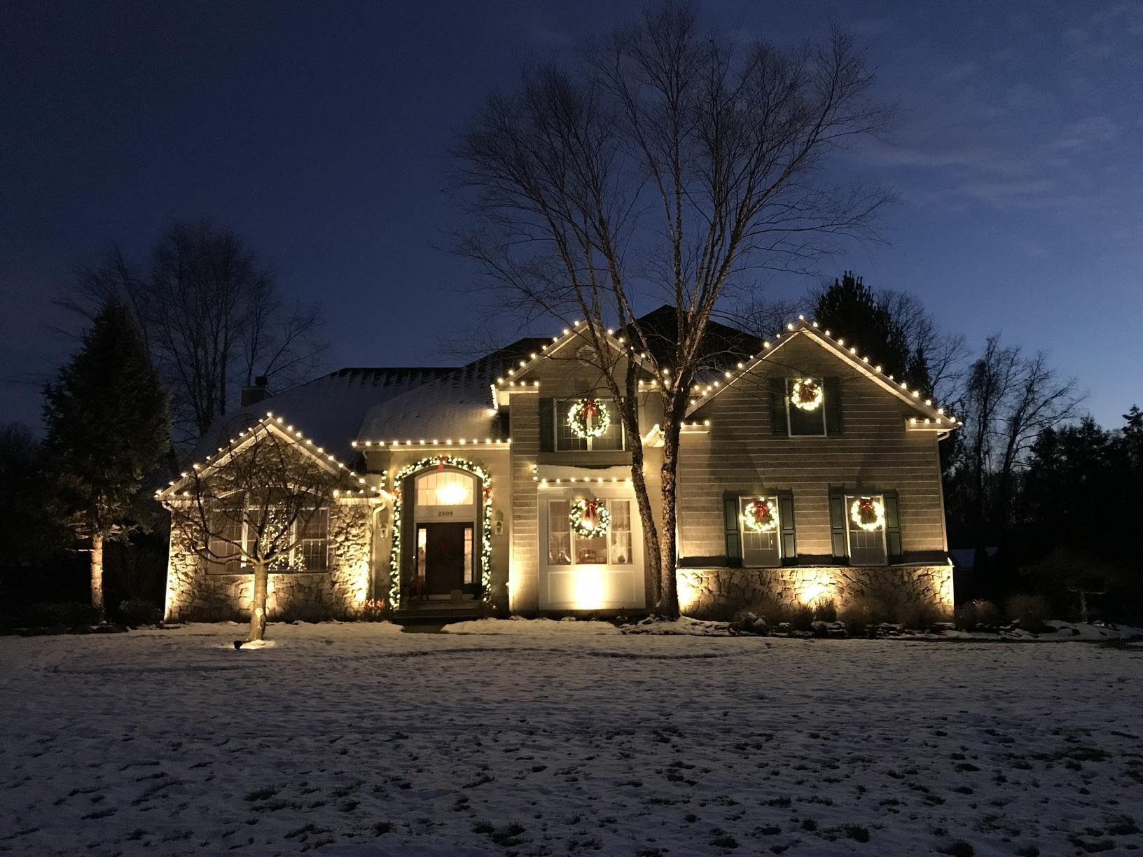 Christmas Light Display in Manasquan, NJ