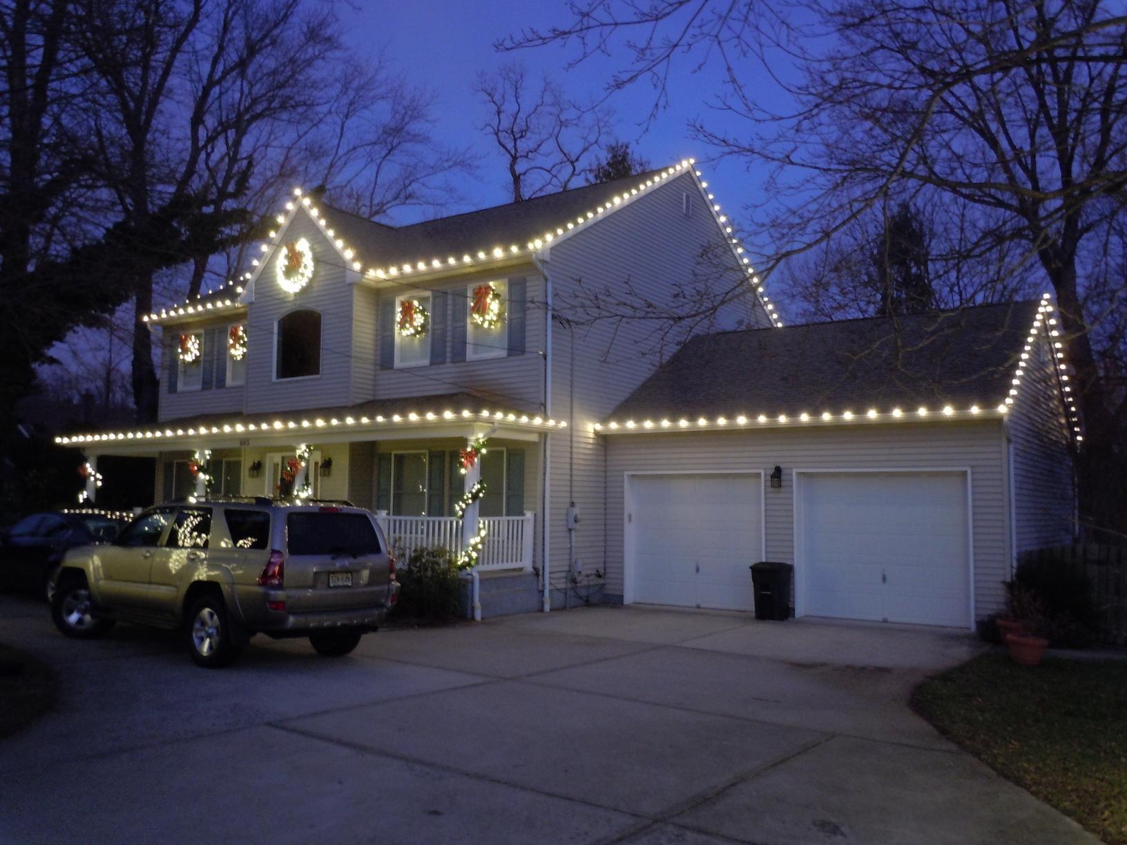 Christmas Light Display in North Long Branch, NJ