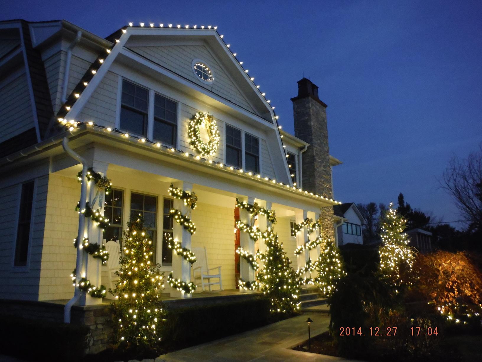 Christmas Light Display in Sea Girt, NJ
