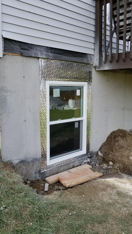 Window is installed