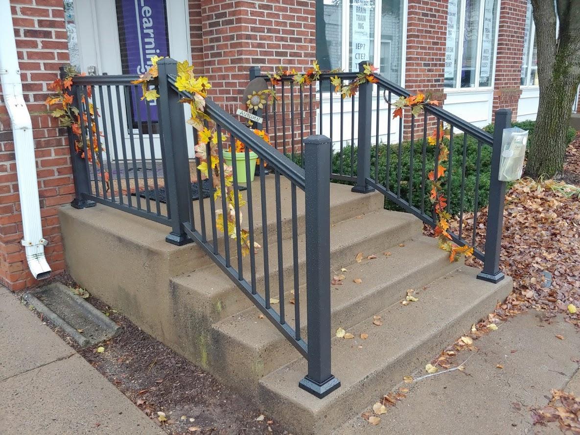 Handrail installation in Leesburg, VA