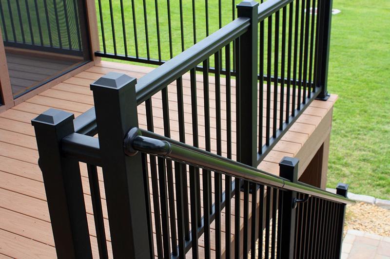 Handrail installation in McLean, VA