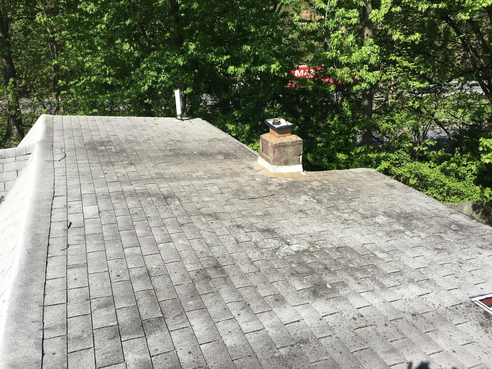 Replacing Shingles on Low Slope Roof