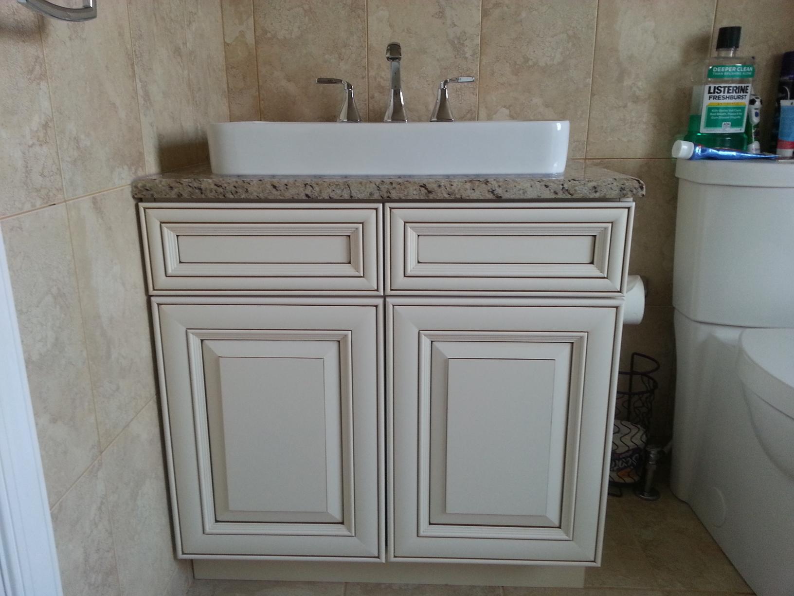 Installing New Bathroom Sink