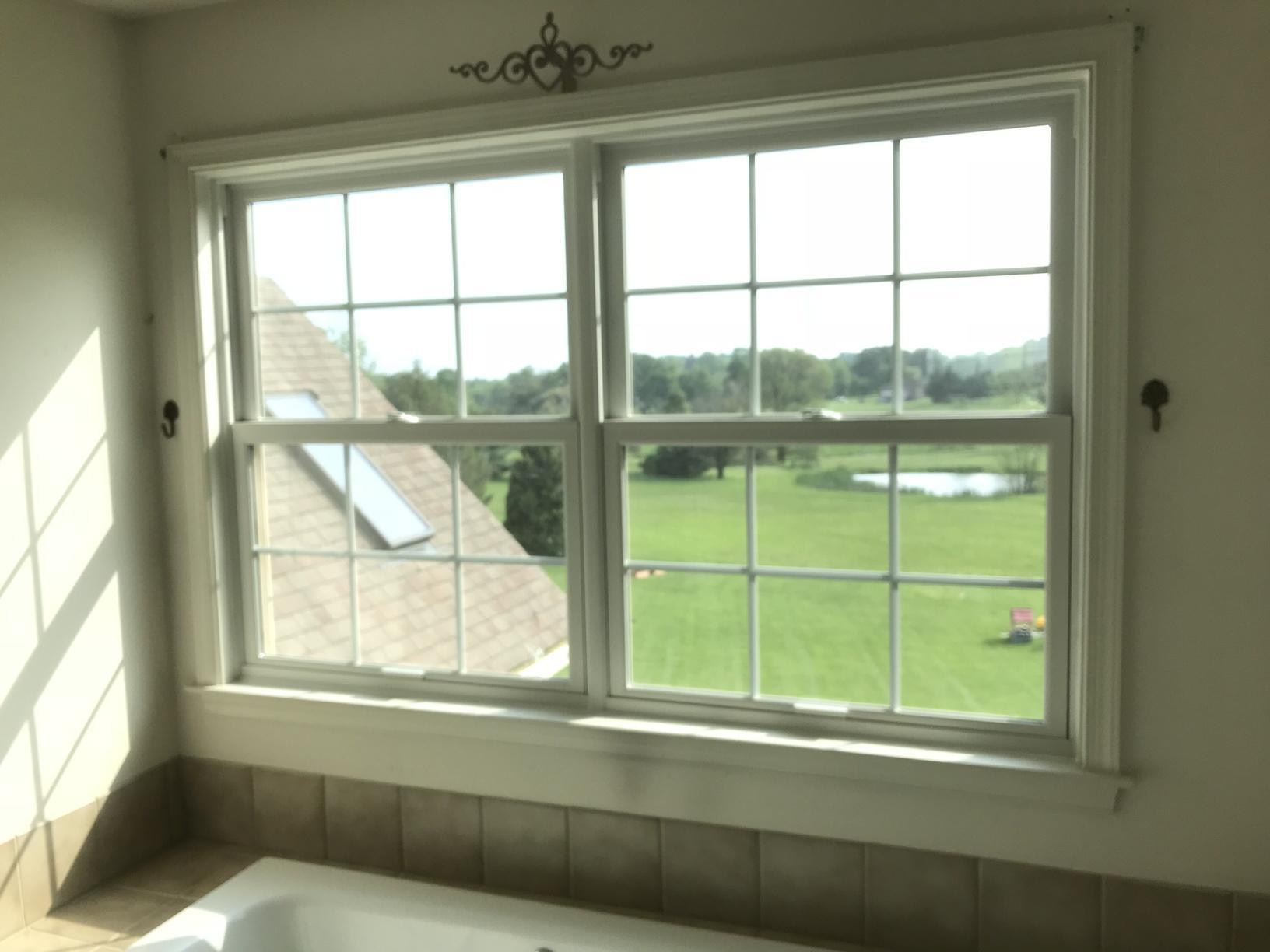 Installing Marvin Windows in Home's Bathroom