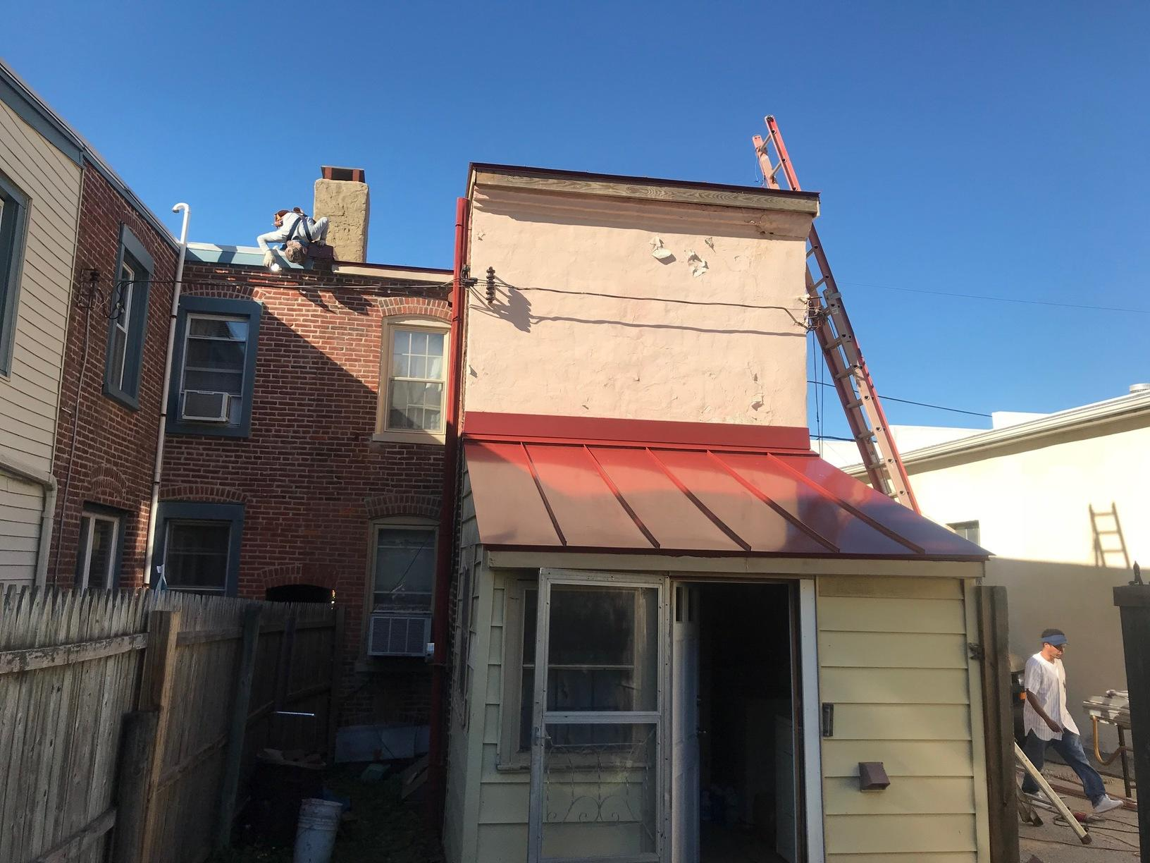 Drexel Colonial Red Standing Seam Metal Roof Install in PA