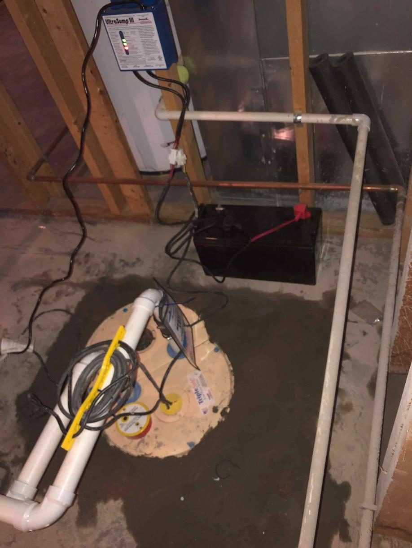 TripleSafe Sump Pump installed in Georgetown, KY