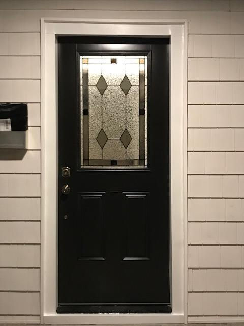 ProVia Timberland Vantage Smooth Fiberglass Door with Vintage Glass