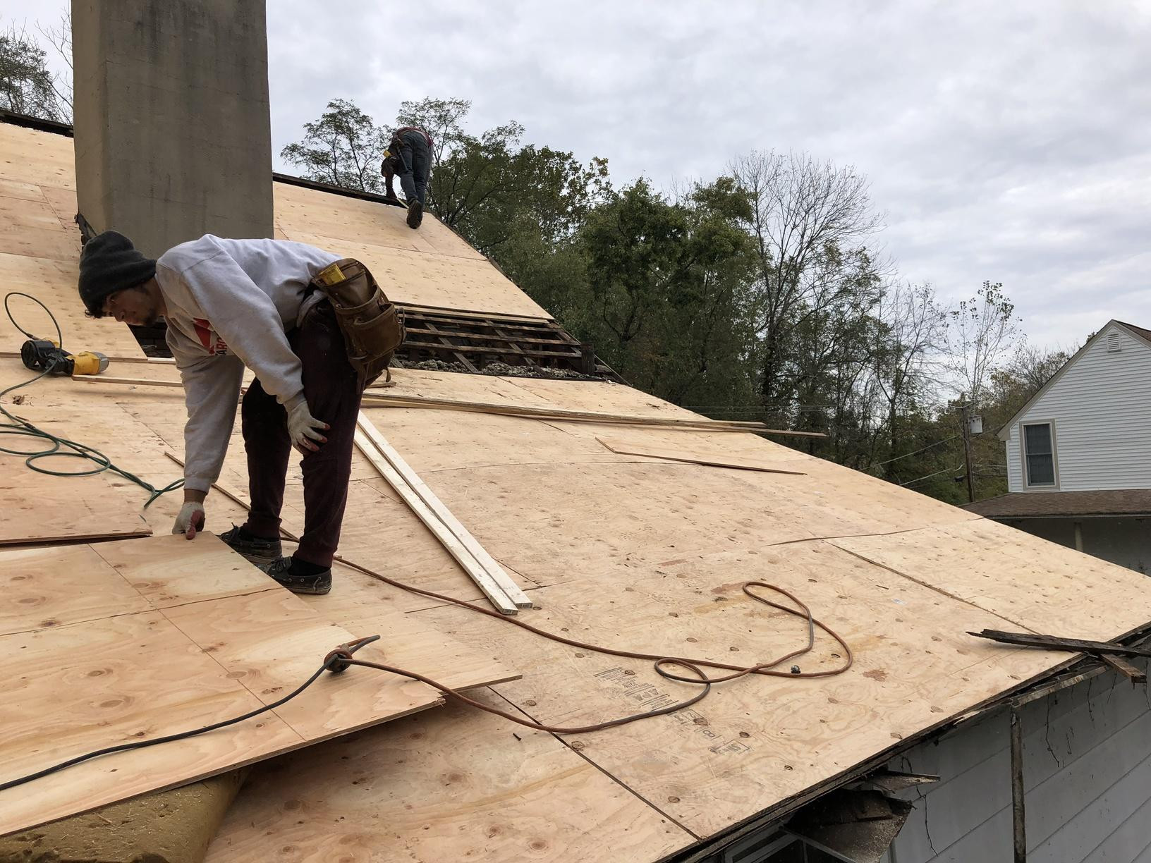 Installing Wood Where Needed