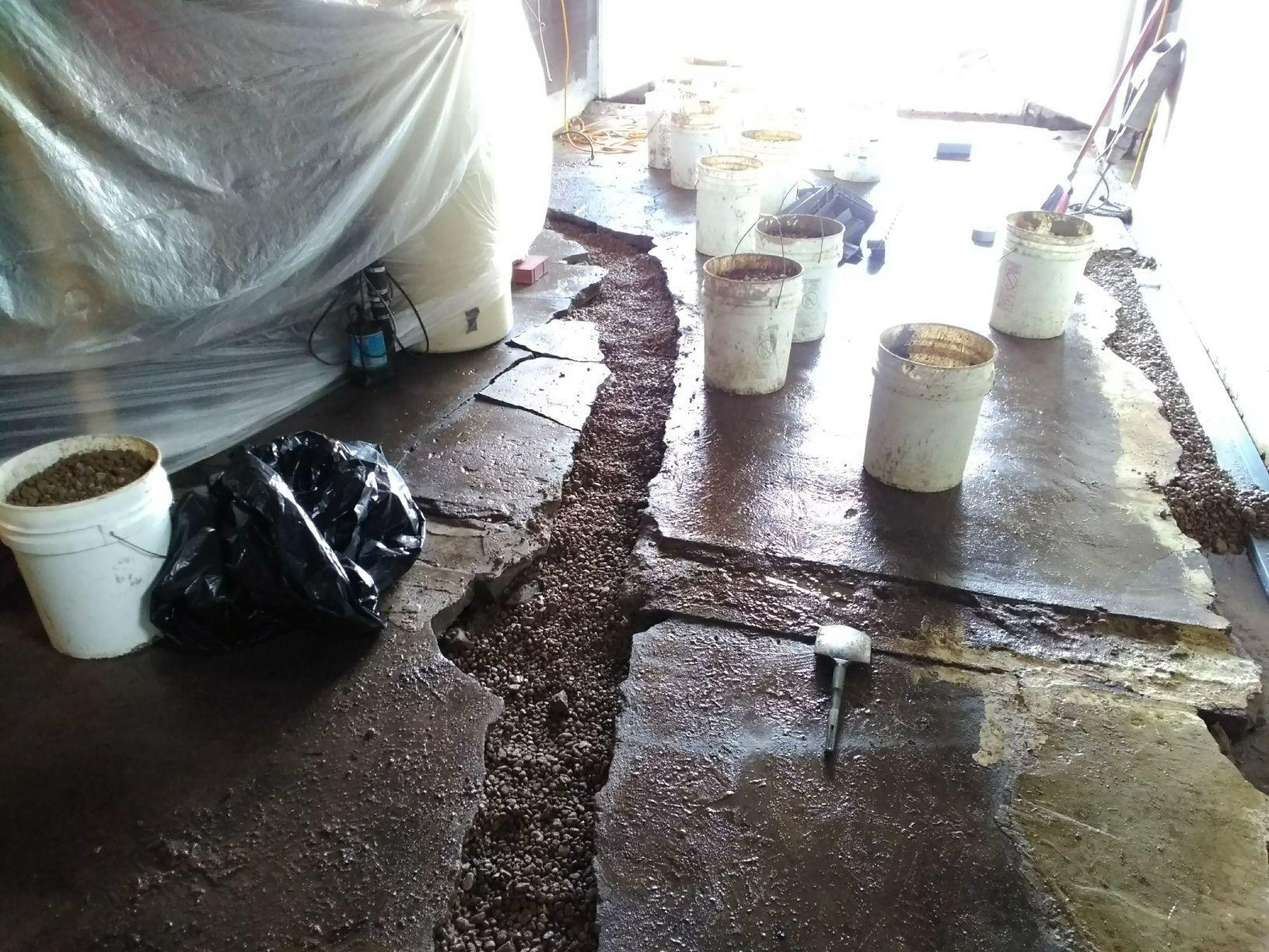 Removal of Concrete