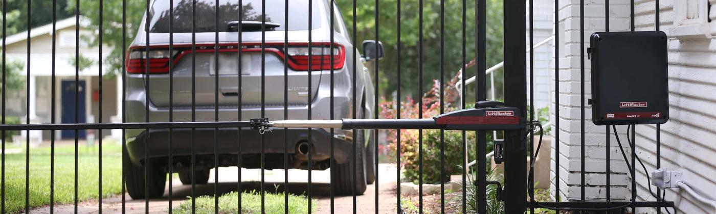 Automatic gate installation, Great Falls, VA