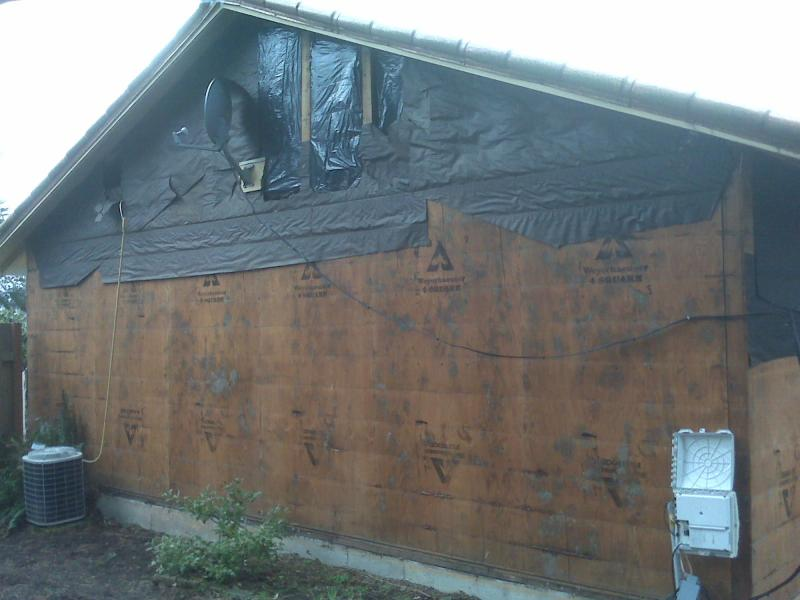 Old Siding Removal