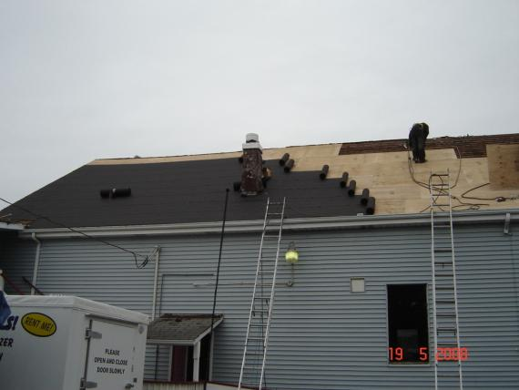 Prepping for the Roof Replacement in Ilwaco, WA