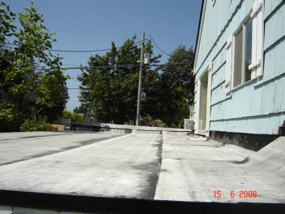 Torch Down for a Flat Roof in Seaside, OR