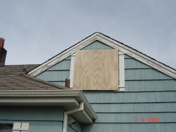 Storm Window Board Up in Seaside, OR