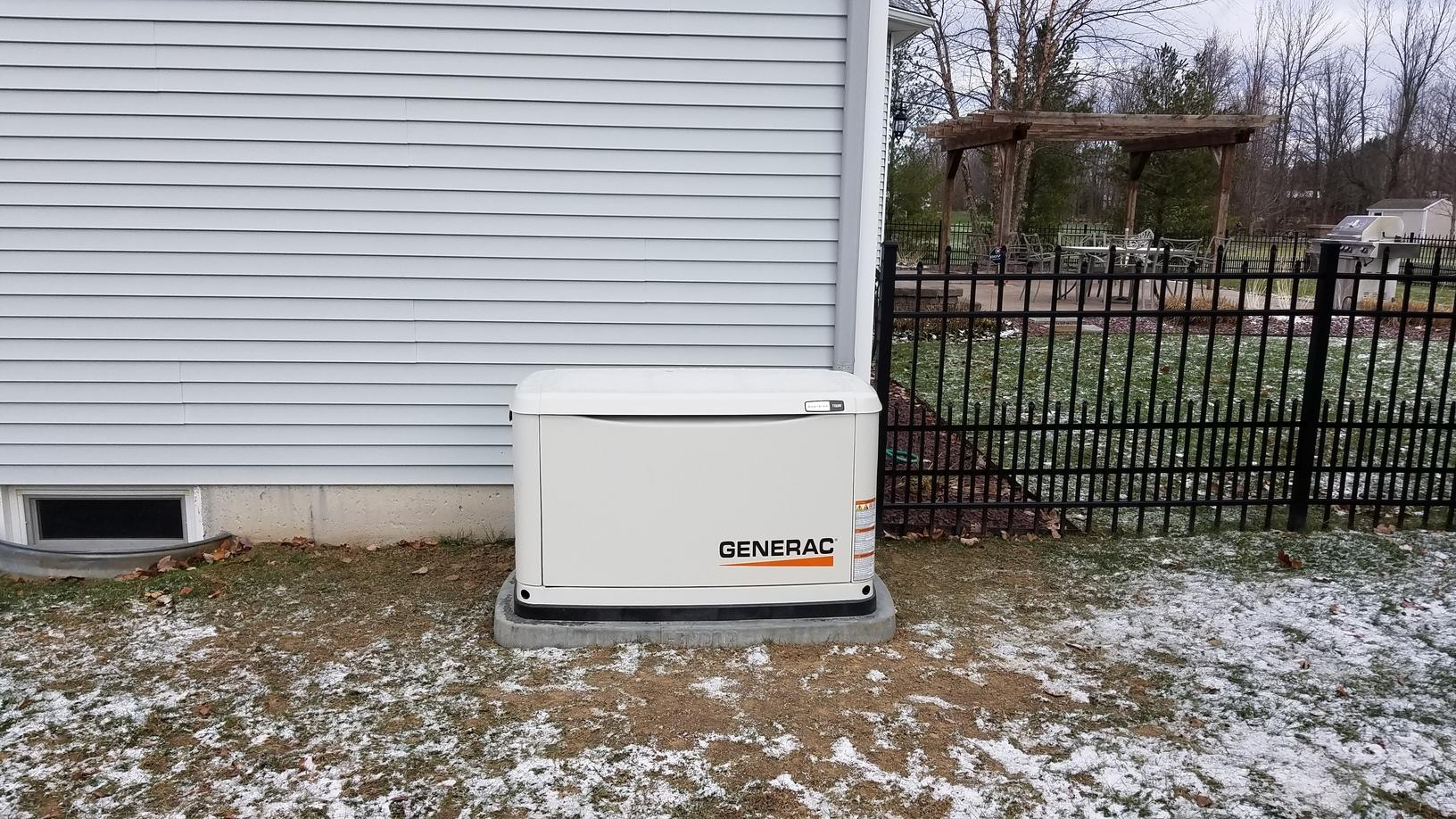 10 kw Generac Generator Installation