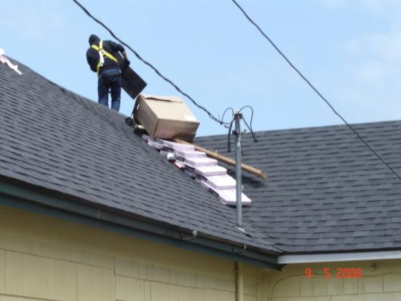 Roof Replacement Nearing Completion in Astoria
