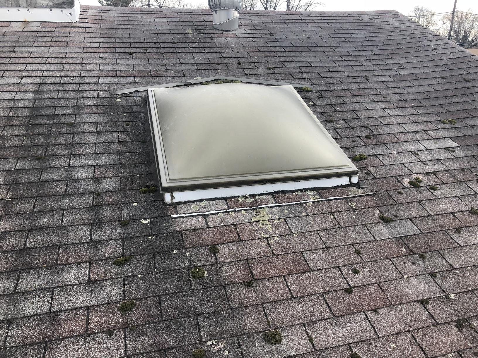 Replacing Roof with Skylight in NJ