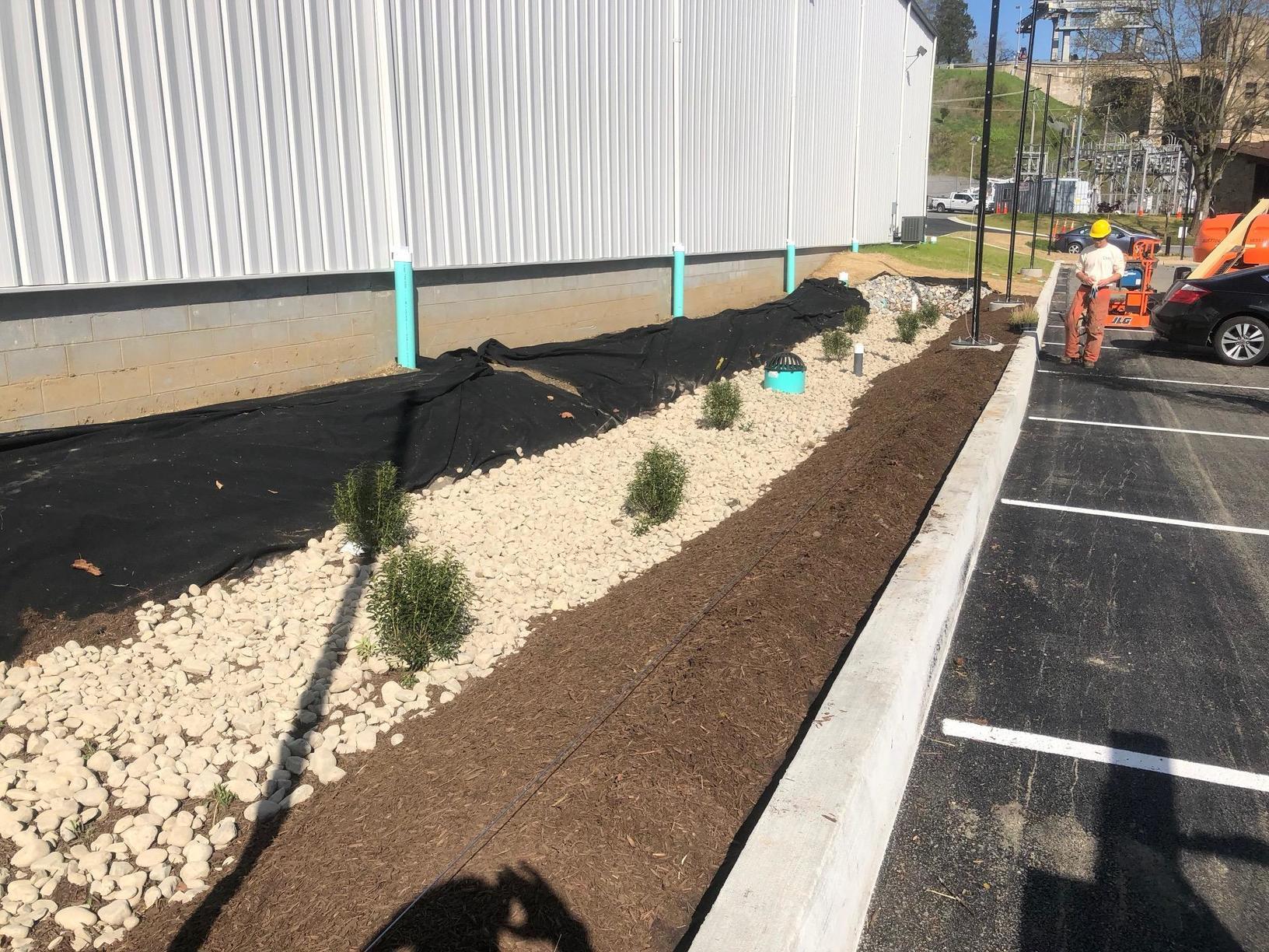 Storm Water Management Pond Installation